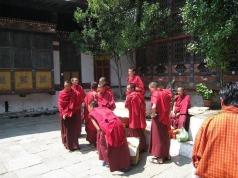 Monks Bhutan