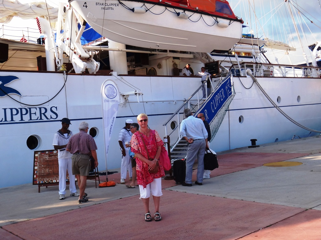 Laivaan kirjautuminen