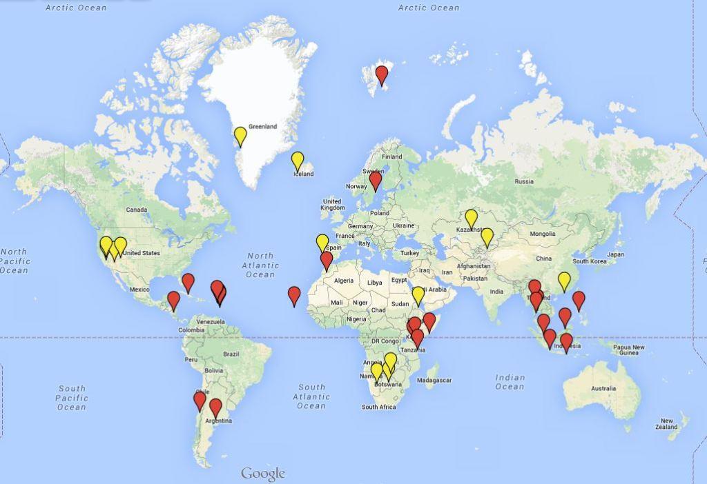 Maailmanmatkaajat maailmalla 201502