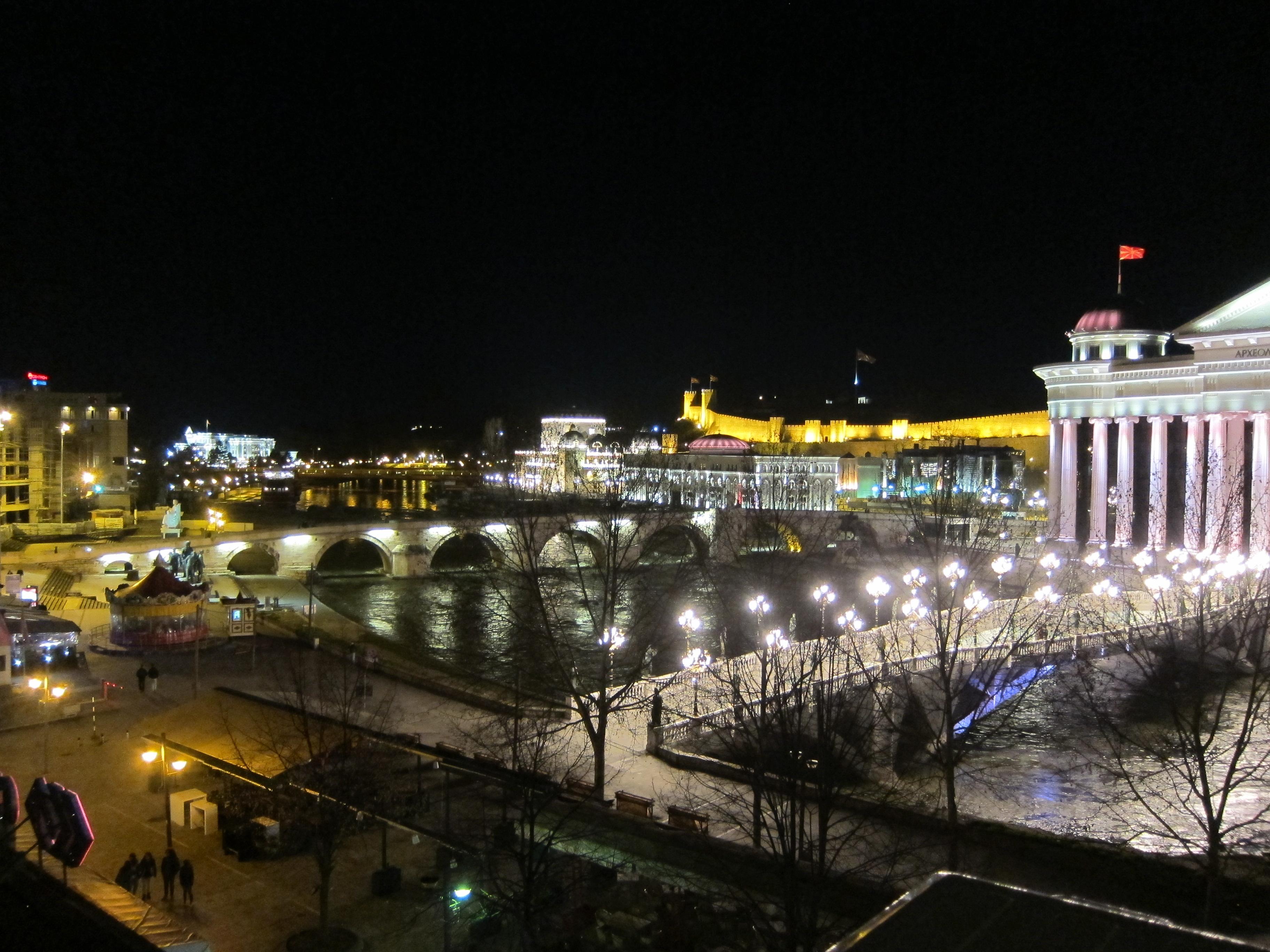 Skopje Sää