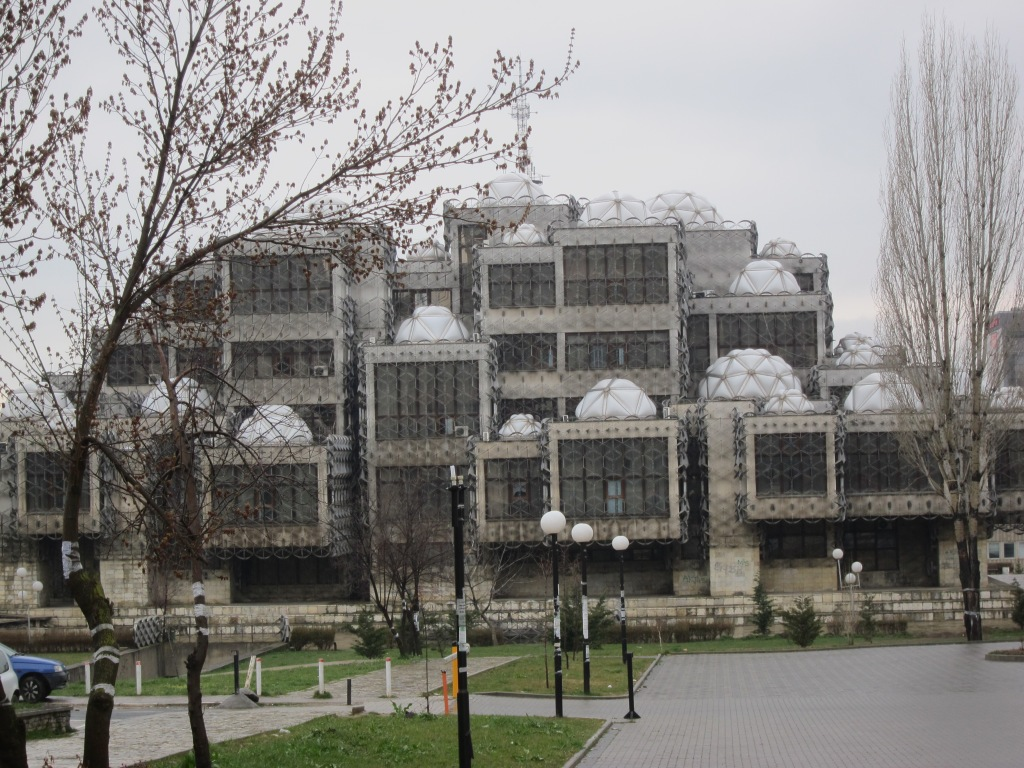 Pristinan yliopiston kirjasto