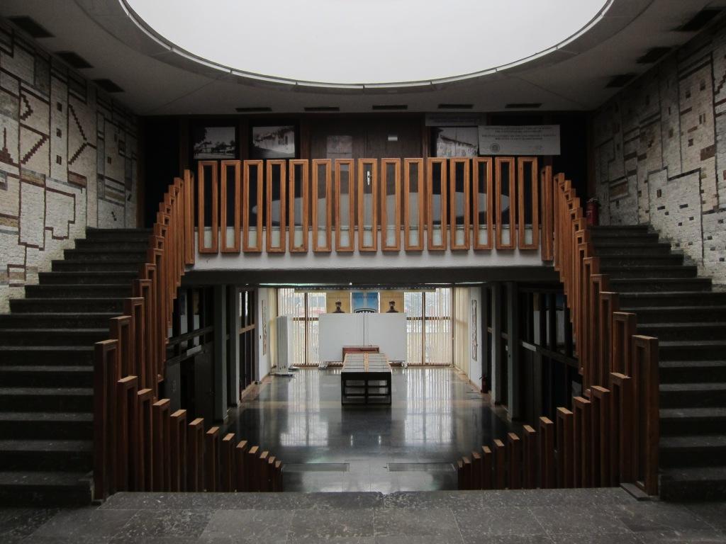 Pristinan yliopiston kirjasto sisältä