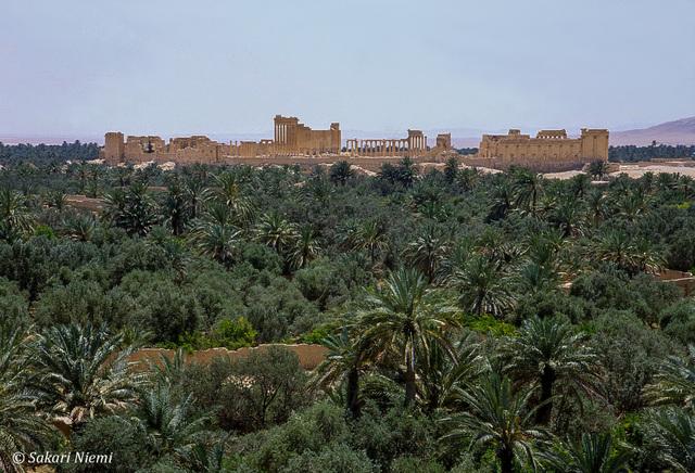 Syyria Palmyran keidaskaupunki (UNESCO)