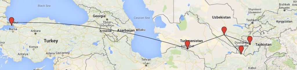 turkmenistan hahmotelma