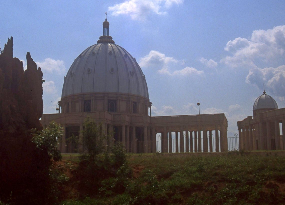 The Bacilica of Our Lady of Peace, Yamoussoukro