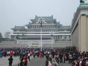 Kim II Sungin aukio
