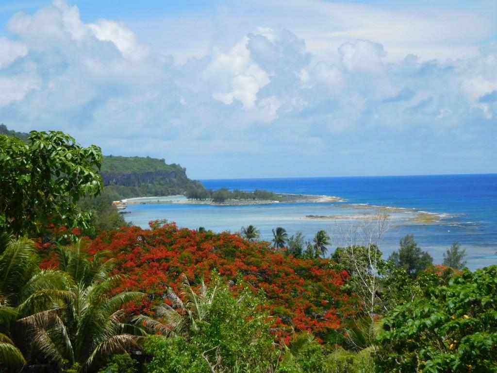 Maisema Rotalla Pohjois- Mariaaneilla